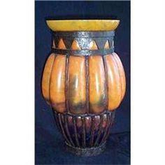 Huge 1925 Art Deco Schneider Art Glass Vase