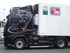 Volvo fh 16 noir torello transport