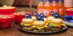 cheeseburger slider cupcakes