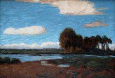 Hans am Ende (Allemagne, 1864-1918) – Im Teufelsmoor (ca 1900) Sammlung der Kunststiftung Fr. Netzel, Worpswede.
