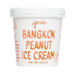 Bangkok Peanut Pint - Jeni's Splendid Ice Creams    I sampled this and it was GREAT!  Definitely one for a future visit.