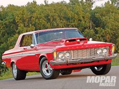 1963 Plymouth Fury - Front view