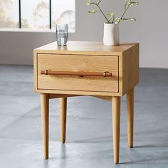 Benson Nightstand - Natural Oak | west elm - available in a few different finishes