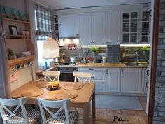 Mieszkanie hand made :) - Średnia otwarta kuchnia jednorzędowa w aneksie, styl klasyczny - zdjęcie od karolina0606