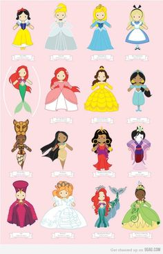 Disney Princesses'.