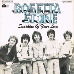Sunshine Of Your Love, Bay City Rollers, Rosetta Stone, Celebrities, Cover, Movie Posters, Celebs, Film Poster, Celebrity