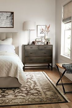 Nightstand for guest bedroom, fill drawer with toiletries and towels for guests