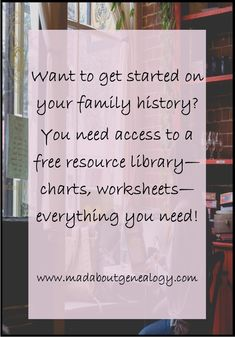 Yes it's absolutely free and everyone is saying how great the family history worksheets, genealogy charts etc are. What are you waiting for? Dash on over to www.madaboutgenealogy.com!!