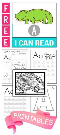 Tons of Free Alphabet Printables!!