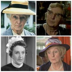 Miss marple Do you remember her as the maid in the Rutherford version?