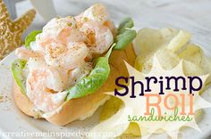 creativemeinspiredyou.com decadent, seafood, easy, dinner, lunch, meal, sandwich, food, recipes, shrimp, shellfish, shrimp roll, mayo, Old Bay, McCormick, kids can cook, mom, family, summer, summer menu, summer meals, easy meals, yum