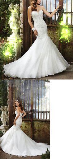 Wedding Dresses: New White Ivory Mermaid Wedding Dress Bridal Gown Custom Size 4 6 8 10 12 14 16+ -> BUY IT NOW ONLY: $104.4 on eBay!