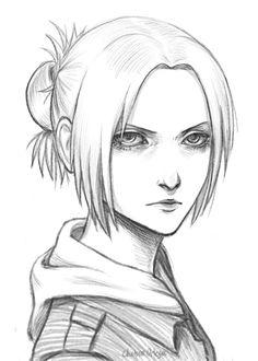 Annie Leonhardt by munette on DeviantArt Attack on titan. 進撃の巨人. Shingeki no Kyojin. Anime. Illustration. Атака титанов. #SNK. #AOT