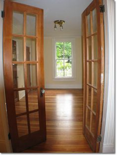 Interior French Doors... Into Office Or Dining Room