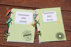 Summer Journal ideas for the kiddos