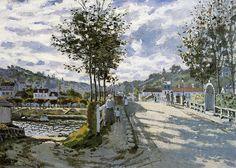 Claude Monet, The Bridge at Bougival, 1869