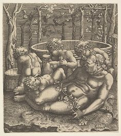 Bacchus Hans Liefrinck (Augsburg (?) 1518?–1573 Antwerp)