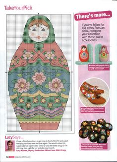 Gallery.ru / Фото #30 - Cross Stitch Crazy 159 январь 2011 - tymannost