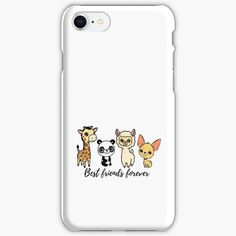 """""""Best Friends Forever"""" iPhone Case & Cover by jakezbontar 