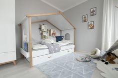 Trends, Toddler Bed, Room, Furniture, Home Decor, Blue Lagoon, Child Room, Child Bed, Bedroom