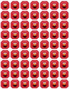 Homemade diy elmo birthday invitations silhouette cameo i have all free elmo cupcake toppers an a billion free sesame st printables invitations favors etc solutioingenieria Choice Image