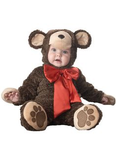 Baby Teddy Bear Costume - Unique Halloween Costume for Infants $39.99