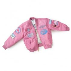 Boeing Collection Boeing Childrens Pink Aviator Flying Jacket