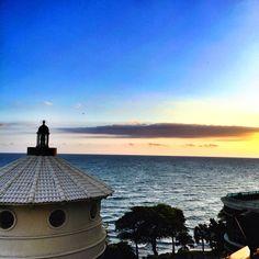Santo Domingo, Dominican Republic. El Malecón at sunset
