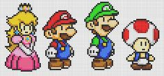 Super Mario cross stitch