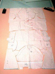 Timo Rissanen: Fashion Creation Without Fabric Waste Creation: Sam Formo's zero-waste jacket