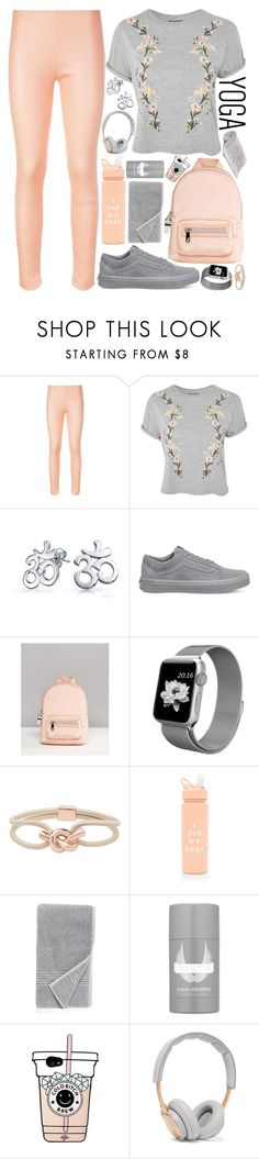 """""""Yoga time!"""" by nvoyce ❤ liked on Polyvore featuring La Perla, Topshop, Bling Jewelry, Vans, Fiorelli, Witchery, ban.do, Nordstrom, Paco Rabanne and B&O Play"""