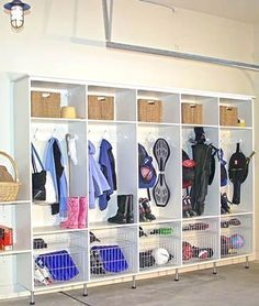 Garage Organization Systems- CLICK PIC for Many Garage Storage Ideas. #diygaragestorage #garagecabinetsdiy