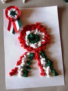Christmas Wreaths, Christmas Crafts, Christmas Ornaments, Diy And Crafts, Arts And Crafts, Earth Day Crafts, Republic Day, School Decorations, Preschool Activities