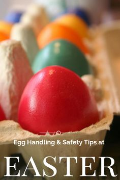 Food Safety tips when handling Easter Eggs