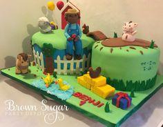 EE-I-EE-I-OH! #farmcake #homemadesweets #BSPD #brownsugarpartydepot