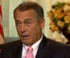 Speaker John Boehner tried to justify the House Republicans' lousy record of not passing legislation by claiming that American people want a Congress that repeals laws instead of passing them. http://www.politicususa.com/2013/07/21/john-boehner-claims-american-people-congress-passes-laws.html