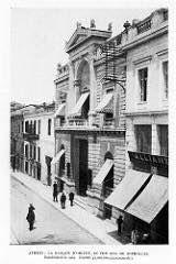 Η τράπεζα Ανατολής 1910 στην οδό Σοφοκλέους Neoclassical, Athens, Greece, The Past, Street View, Memories, History, Greece Country, Memoirs