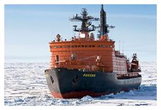 Today Russian nuclear icebreaker fleet consists of six nuclear-powered icebreakers, 4 vessels technological service and one container.
