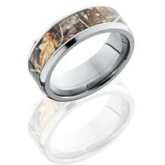 Mens Camo wedding ring <3