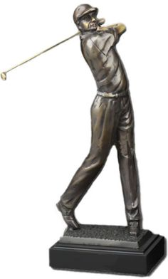 On the Green Golf Statue Award available at AllSculptures.com
