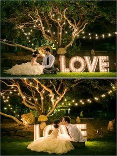 Inspirações de luzinhas no casamento! 4