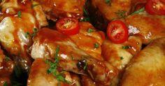 Fabulosa receta para Alitas de pollo con miel y limón. Este es un plato muy fácil de hacer. Para cenas es ideal.