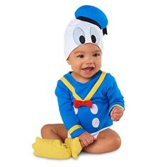 Disney Donald Duck Bodysuit Costume Collection for Baby Cute Baby Costumes, Duck Costumes, Family Costumes, Super Hero Costumes, Disney Costumes, Awesome Costumes, Duck Halloween Costume, Baby Halloween, Halloween 2016