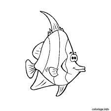 Free Printable Fish Coloring Page For Kids To Print And Color