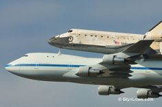Space Shuttle Discovery Landing At Washington DC - (Explored) by Glyn Lowe Photoworks, via Flickr