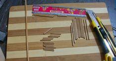 Özel sipariş olarak minyatür bahçeler için yaptığım masa sandalye takımları.. Sizlere bir fikir olabilir diye yapım aşamalarını resimledim..... Modern Dollhouse Furniture, Miniature Furniture, Sticks Furniture, Vitrine Miniature, Shadow Box, Terrarium, Diy And Crafts, Stairs, Architecture