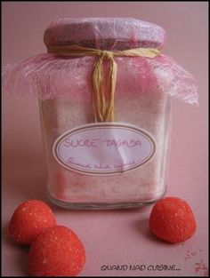 sucre tagada Mason Jar Meals, Meals In A Jar, Sos Recipe, Food Storage, Gifts For Cooks, Gourmet Gifts, Batch Cooking, Mason Jar Wine Glass, Jar Gifts