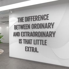 Motivational Quotes For Women Discover Office Decor Wall Decor Office Wall Art Office Wall Art Office Walls Home Office Decor sign - SKU:OREX Difference between ordinary and Extraordinary - School Office Quote - SKU:OREX