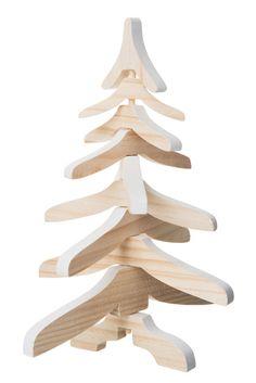 """Sapin décoratif """"Abies"""" en bois Maisons du Monde"""