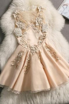 Beaded Embroidery Dress NBE